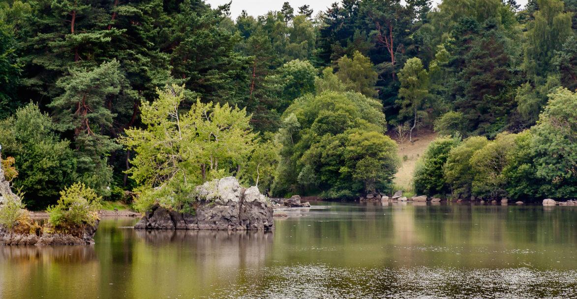 Lac de la cassière auvergne