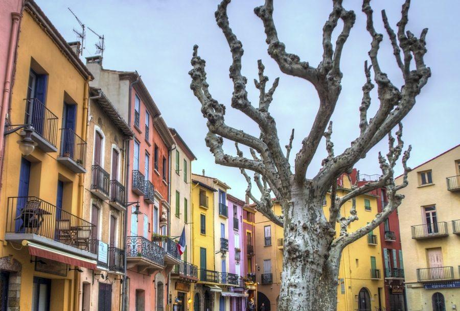 Village coloré de PACA