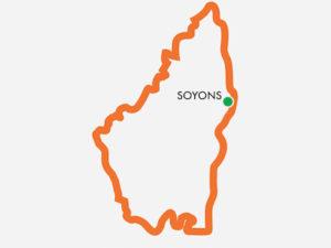 Carte de Soyons