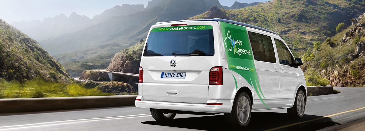 Volkswagen California au couleurs de Van's Ardèche