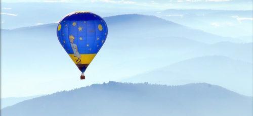 Montgolfière en Ardèche